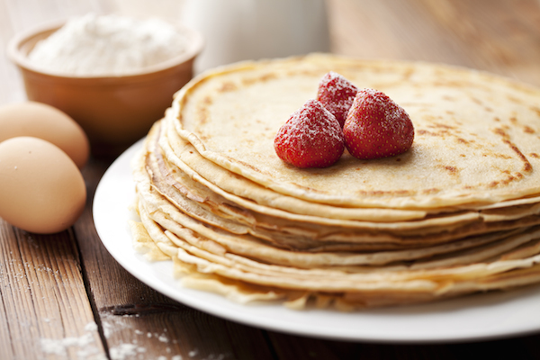 C'est bientôt la chandeleur ! Hummm une bonne recette de crêpes…