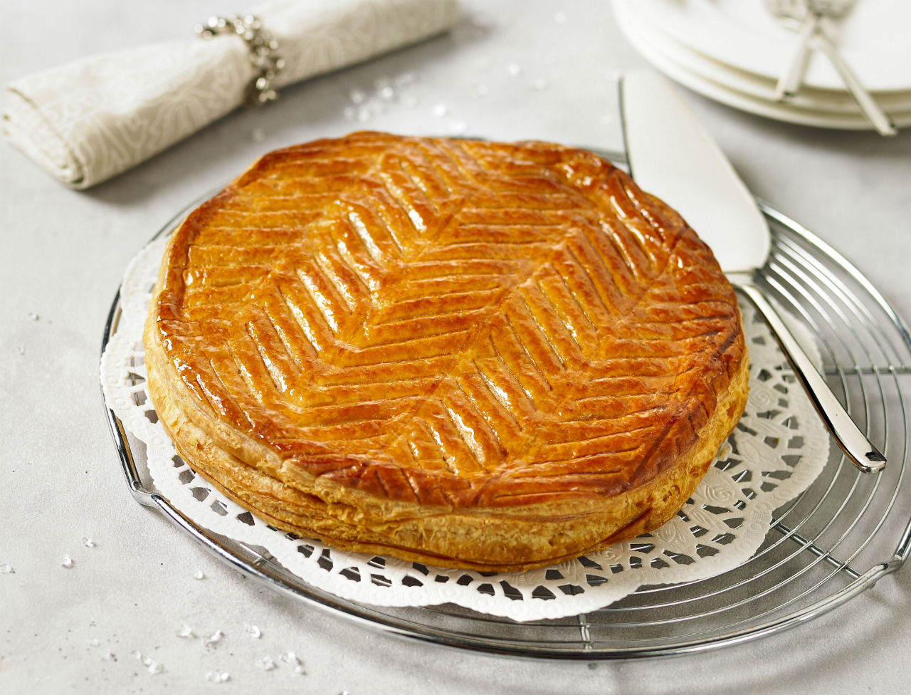 Galette des rois à la pistache